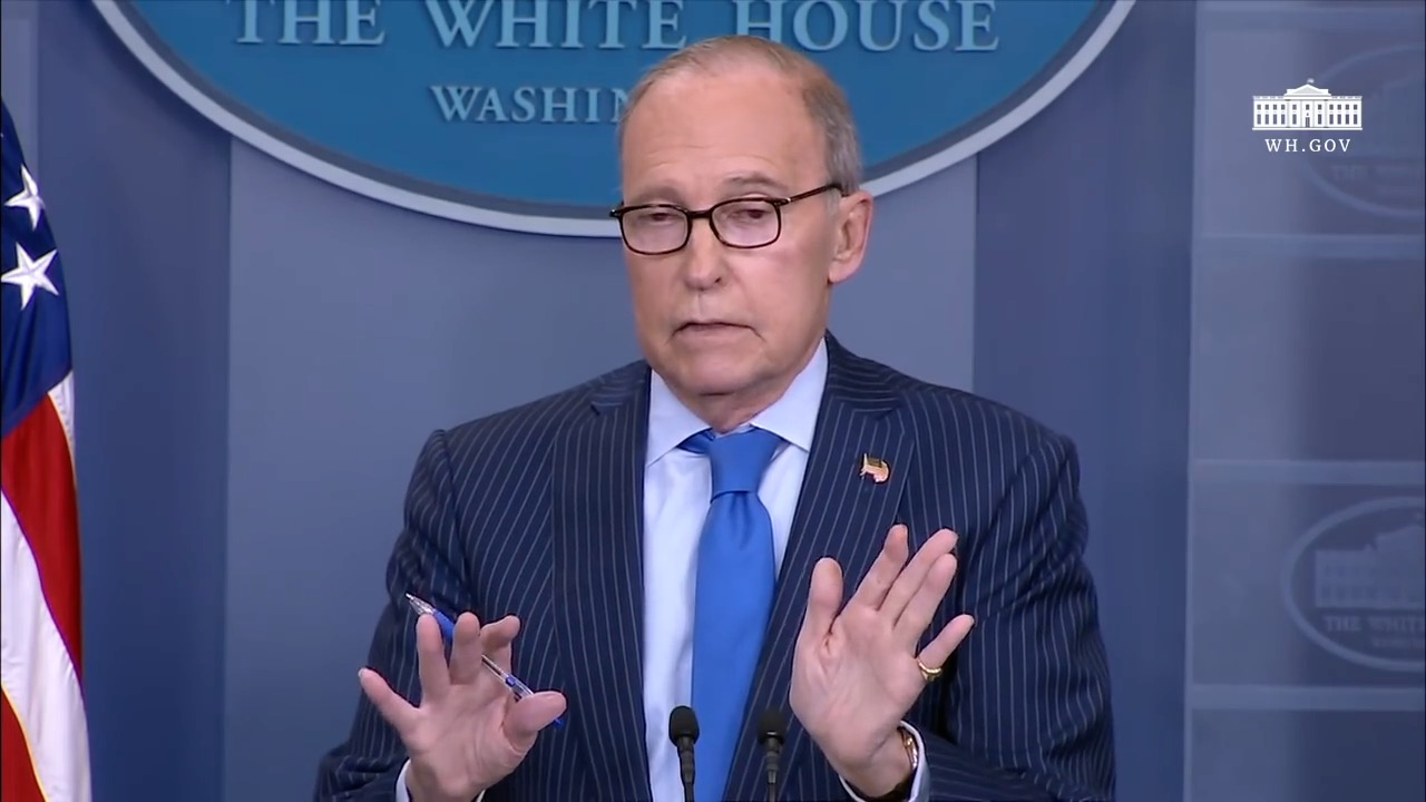 Larry Kudlow Talks About G7 Tensions And Trade With China