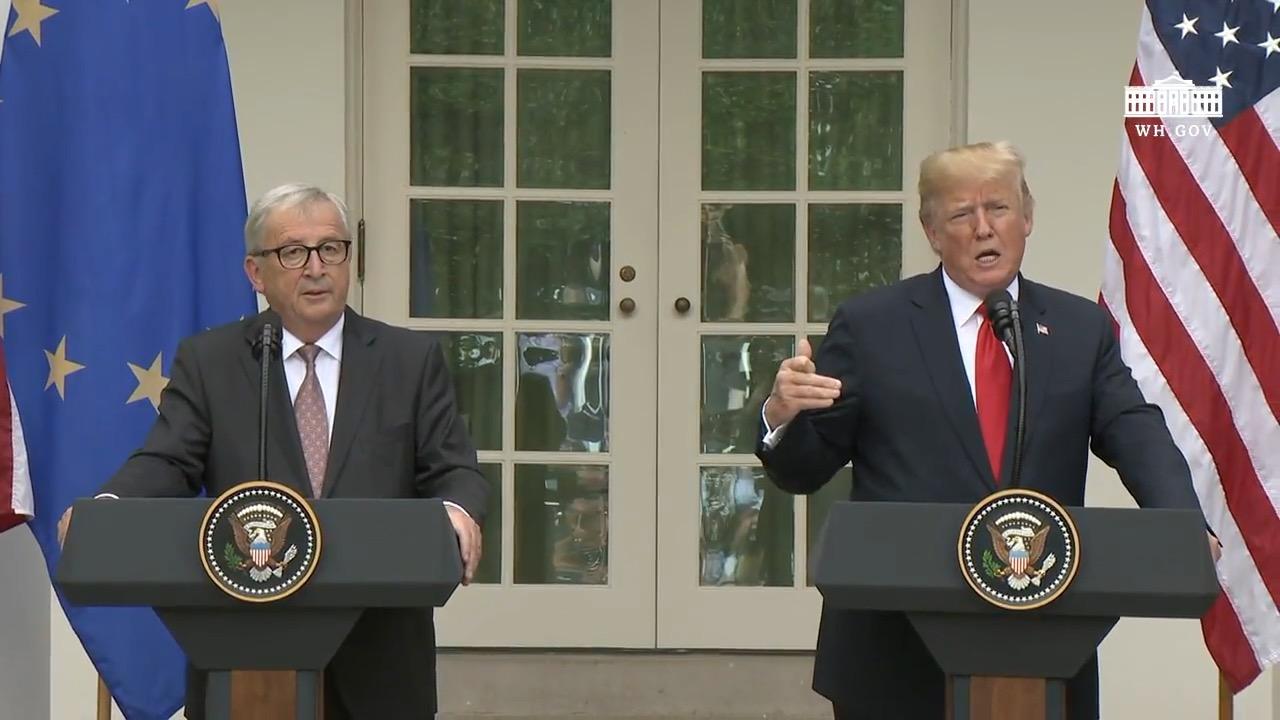 EU President Brings Free And Fair Trade To The U.S.A.