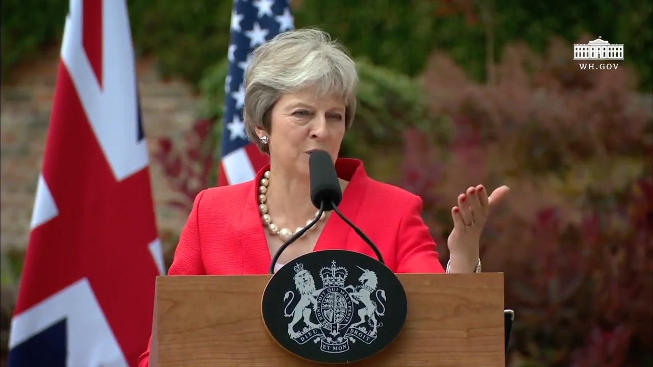 Theresa May Wants A Trade Deal With The EU