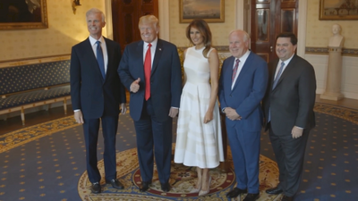 Melania Trump Introduces First Ever Presidential Sites Summit