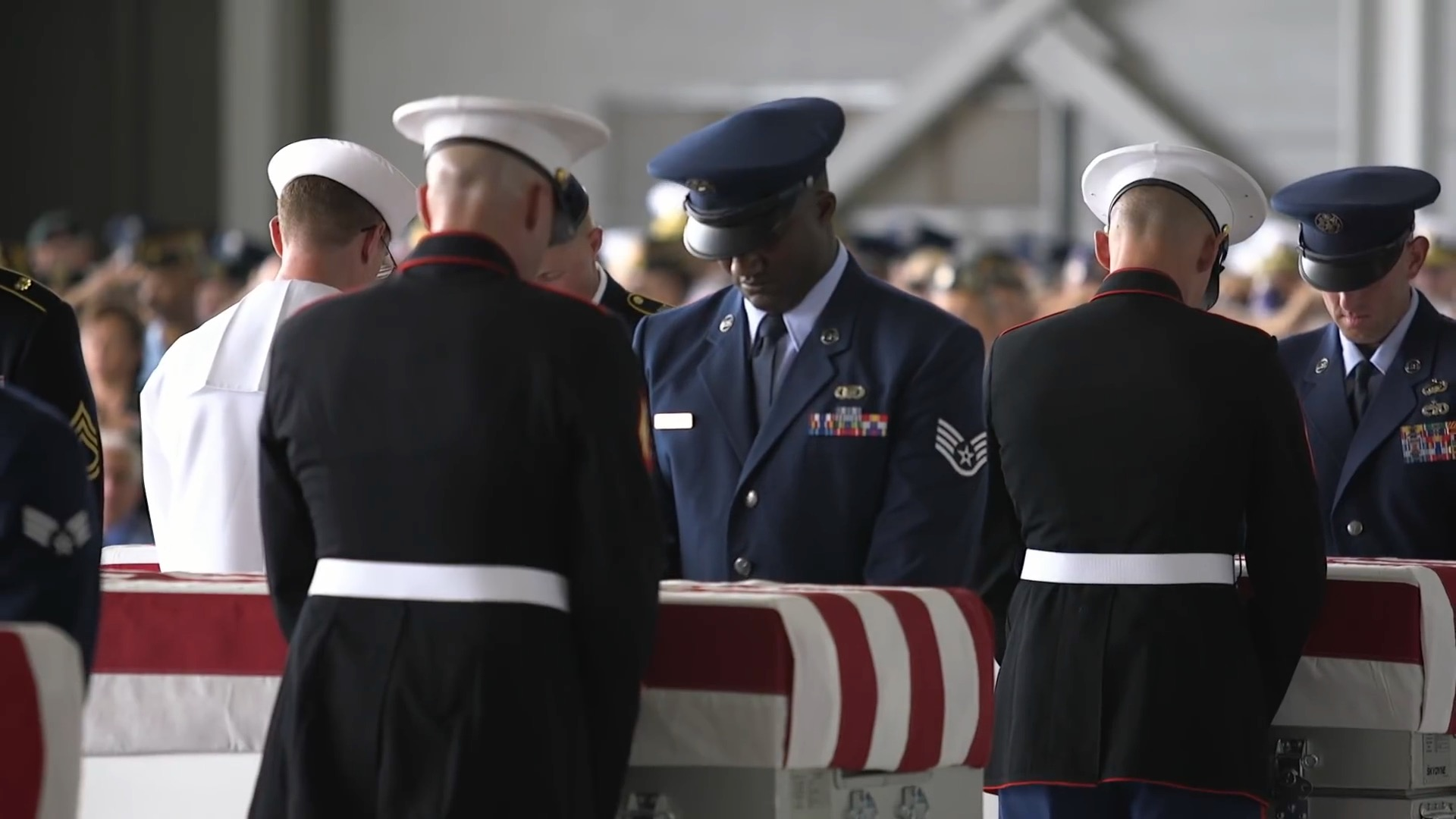 A Look At The Honorable Carry Ceremony In Hawaii For Fallen Heroes