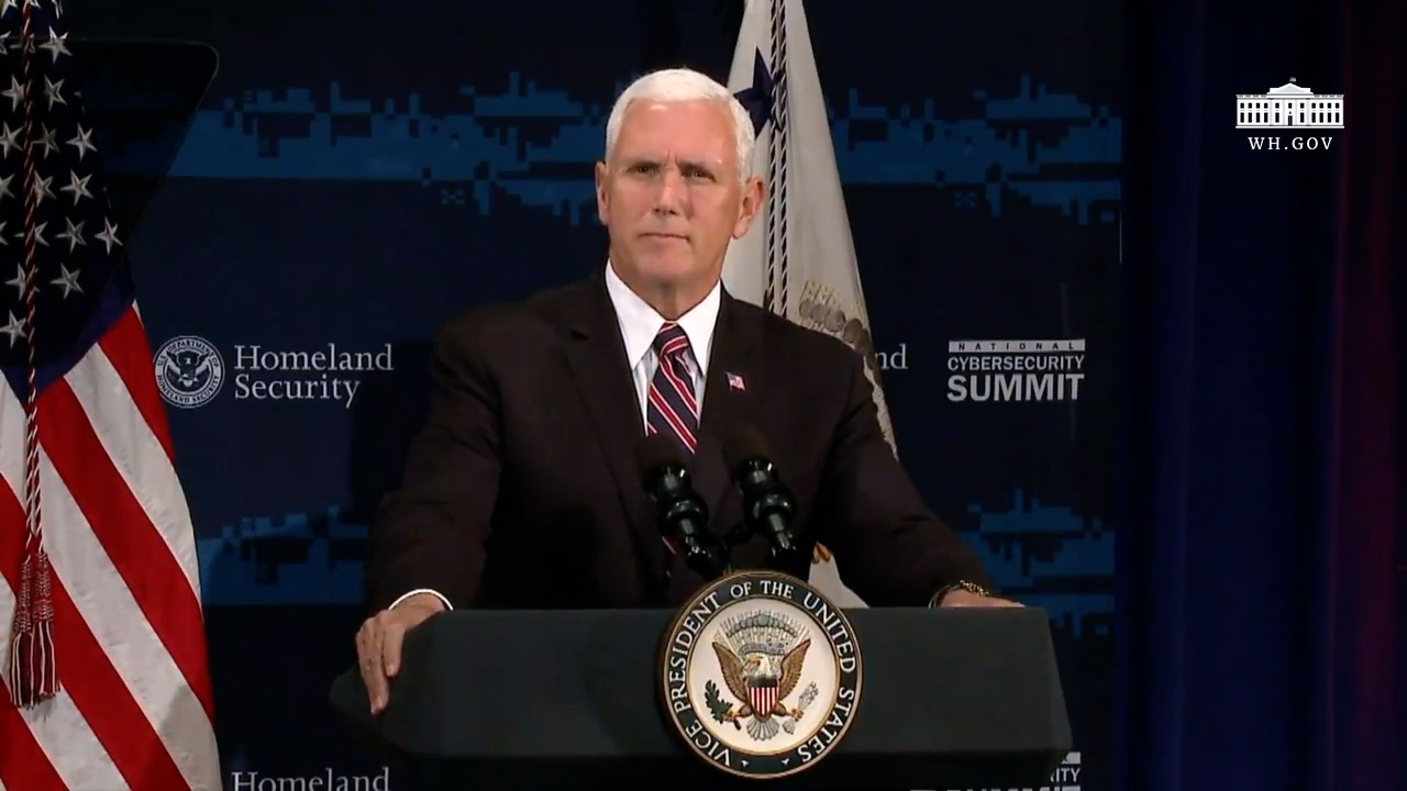 "VP Pence: ""America Depends On The Digital World"""