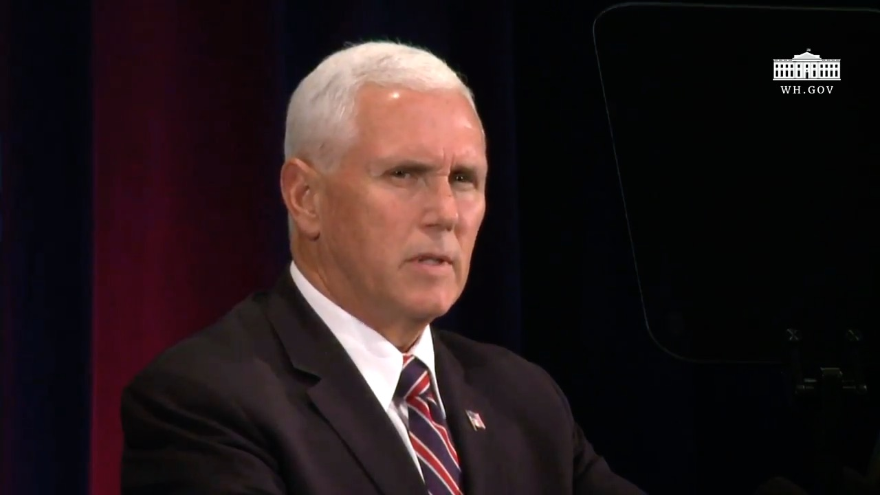 "Vice President Pence: ""We Inherited A Cyber Crisis"""