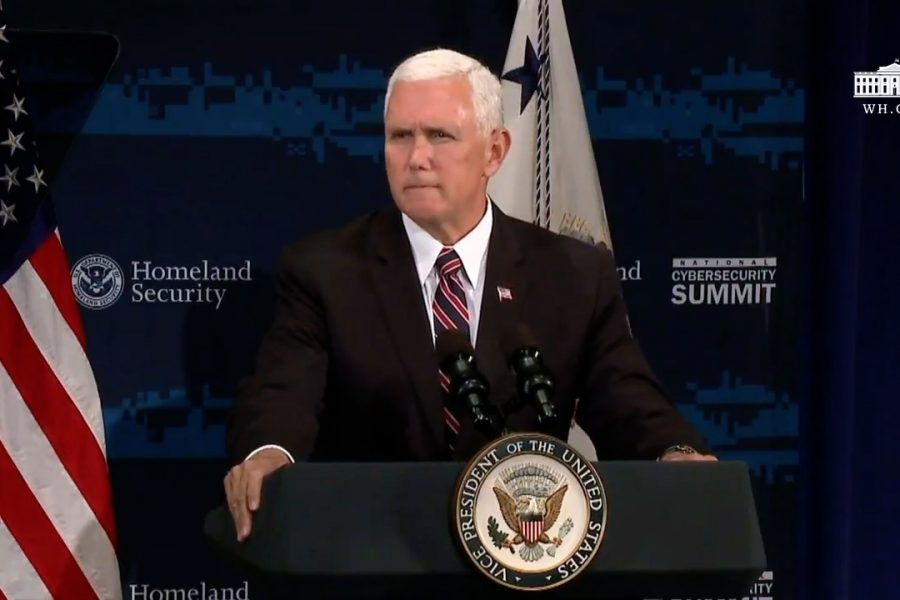 "VP Pence: ""Cyber Attacks Cost Us 109 Billion A Year"""