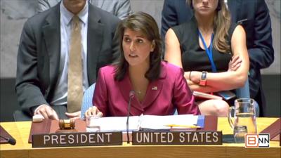 Ambassador Nikki Haley Reports On The Middle East Crisis