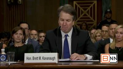 "Judge Kavanaugh Breaks Down: ""We Should Pray For The Woman"""