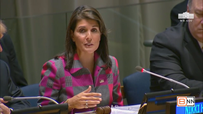 Nikki Haley's Global Call To Action Against Drug Abuse