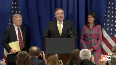 Pompeo Is Scoring Touchdowns At The Superbowl Of Diplomacy