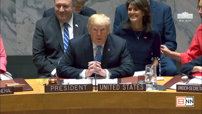President Trump Chairs The UN Security Council Meeting