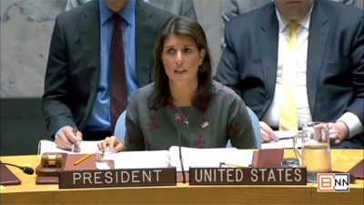 UN Ambassador Nikki Haley On Chemical Weapons In Syria