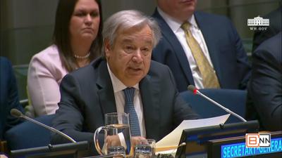 United Nations Secretary General Speaks Out Against Drug Abuse