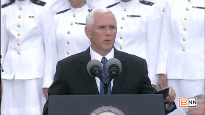 VP Pence At 9/11 Pentagon Ceremony Gives Emotional Closing remarks
