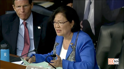 Why Senator Hirono Concentrated On Sexual Harassment Questions At Kavanaugh Hearing