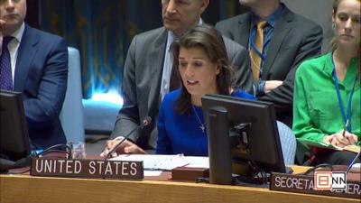 Ambassador Haley Makes A Plea For The Lives Of Iranian Children