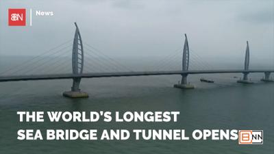 China Builds A Bridge To Hong Kong