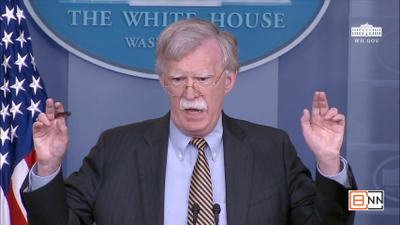"""John Bolton: """"Palestine Is Not A State And Doesn't Meet The Criteria For A State"""""""