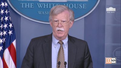 John Bolton: The United States Is Ending Treaties And Conventions That Are Ineffective