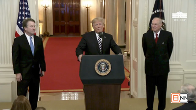 President Trump's Speech At Justice Kavanaugh's Swearing In Ceremony