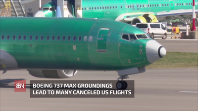 A Lot Of Continuing Flight Cancellations Over 737 Max Jets