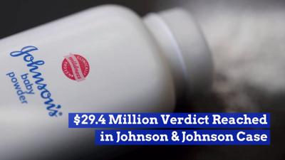 Johnson And Johnson Loses Big Baby Powder Case