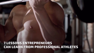 What Entrepreneurs Can Learn From Athletes