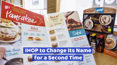 IHOP Is Changing Their Name Again