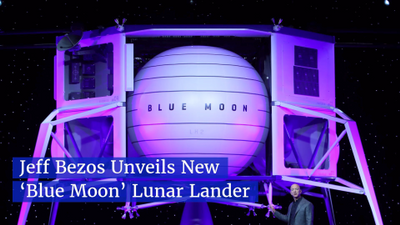 Jeff Bezos Gets Into The Race To Colonize The Moon