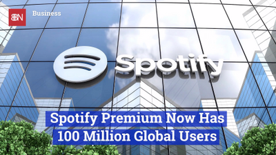 Spotify Now Has Over 100 Million Users