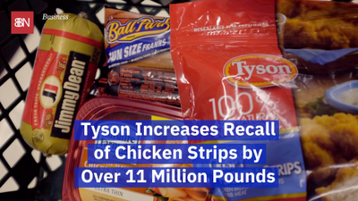 Tyson Chicken Has A Huge Recall Of Chicken Products