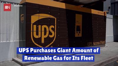 UPS Buys Into Renewable Energy