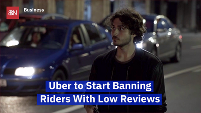 Uber Is Now Going To Review You