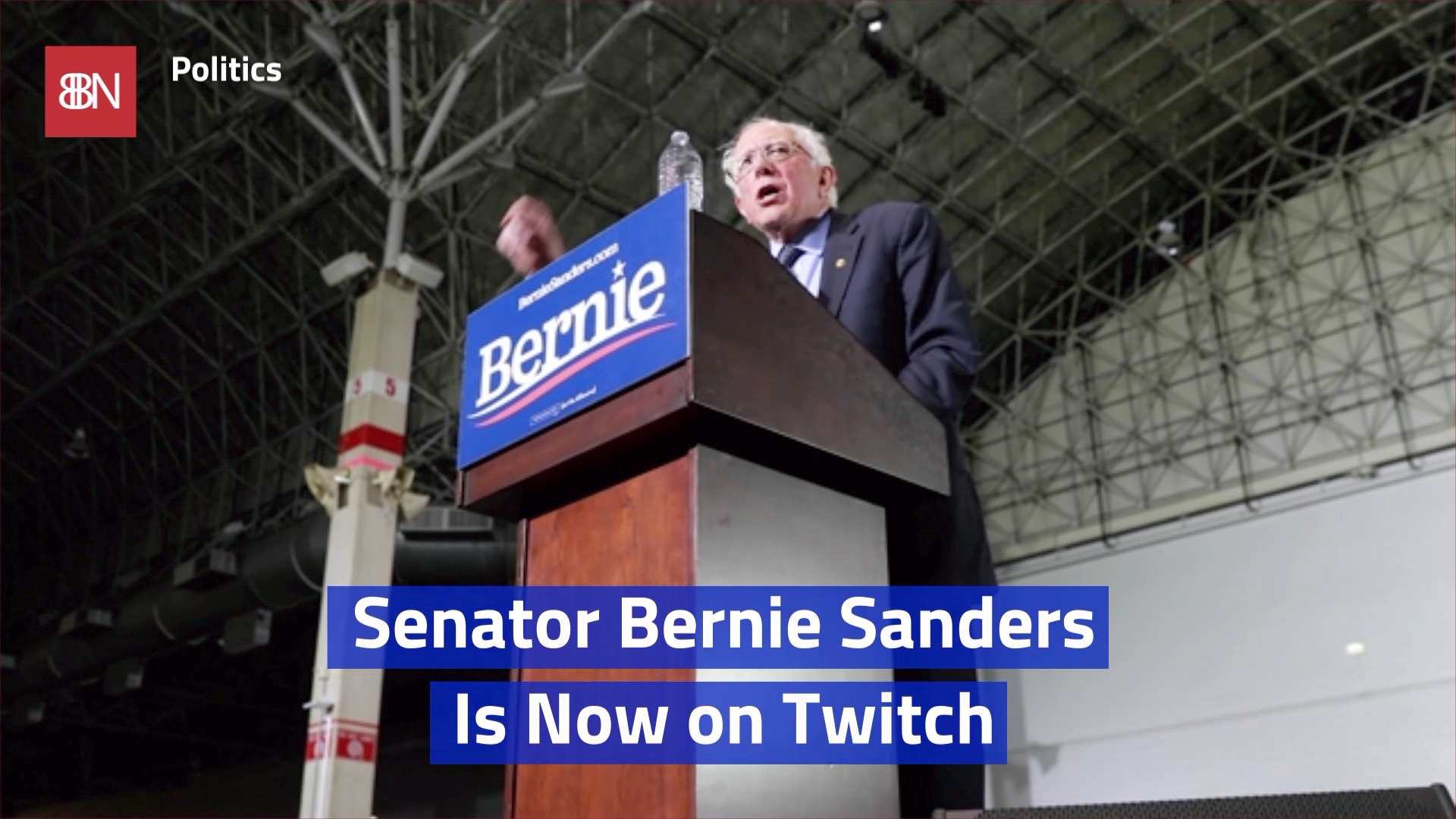 Bernie Sanders Appeals To The Gamers On Twitch
