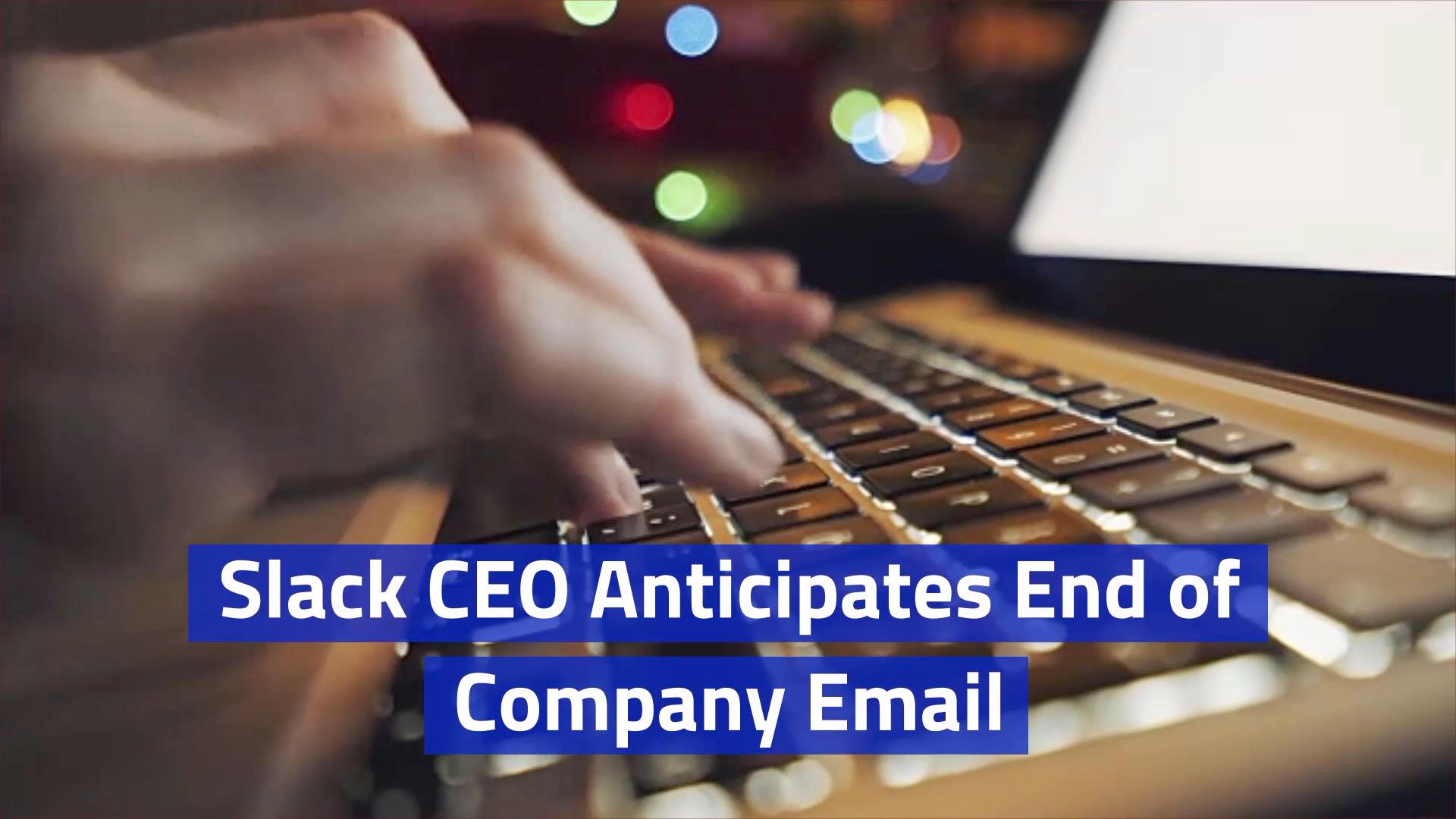 Slack CEO Has A Vision