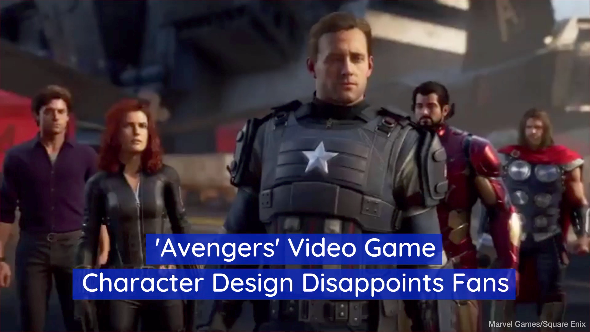 The New 'Avengers' Video Game Doesn't Have Great Graphics