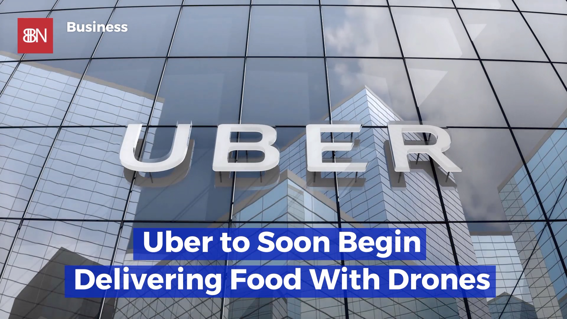 Uber Eats Will Fly Your Food In