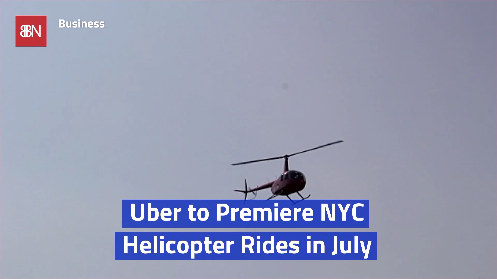 Uber Is Taking Over The Sky