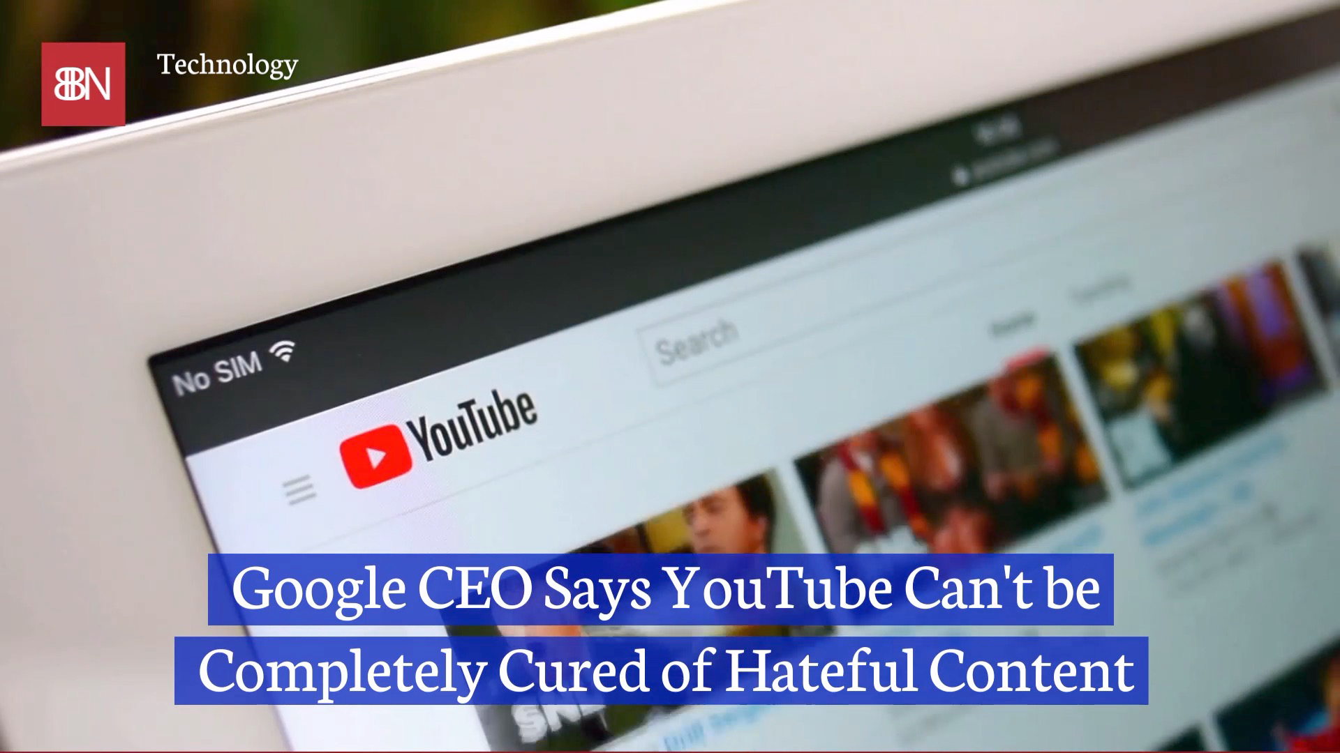 YouTube Will Always Have Hate Related Content