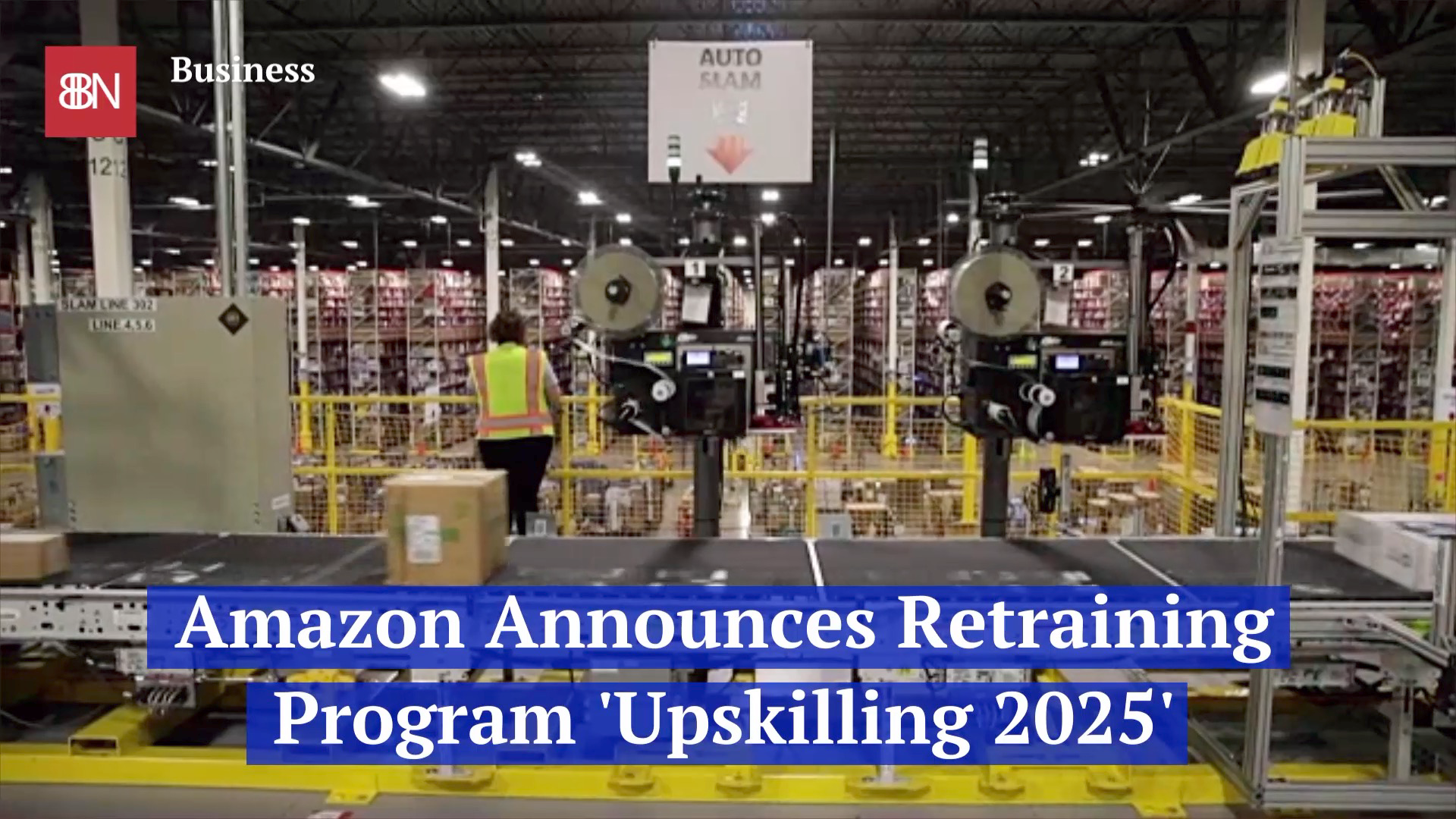 Amazon Finds A Way To Retrain Workers
