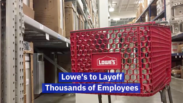 Lowe's Has To Let People Go