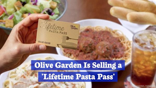 Olive Garden Eating Forever