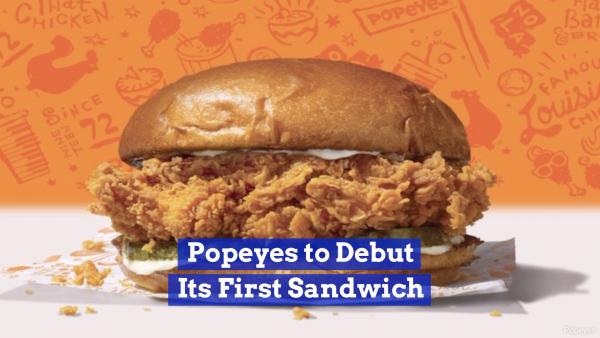 Popeyes Is In The Sandwich Biz