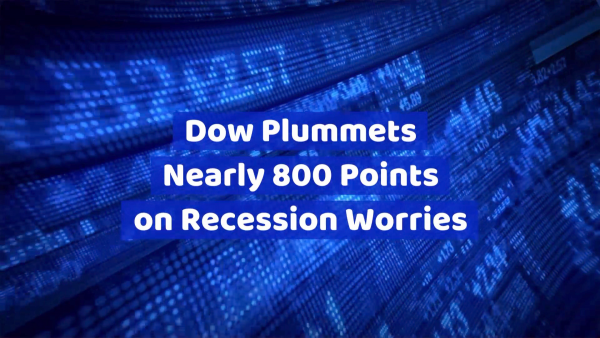 The Dow Is In A Rough Spot