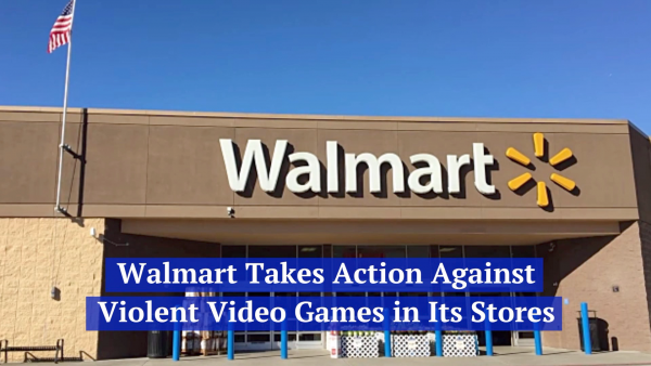 Walmart Takes Action On Violent Video Games But Not Guns