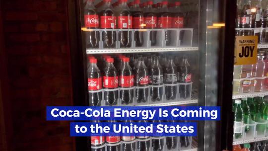 Try Some Coca-Cola Energy