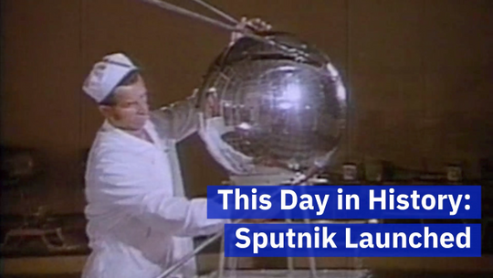 When The Soviet Union Launched A Satellite