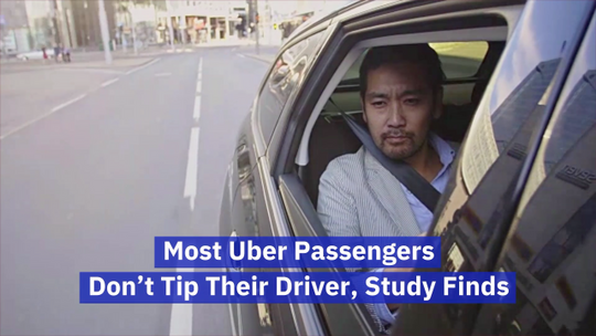 People Aren't Tipping Uber Drivers