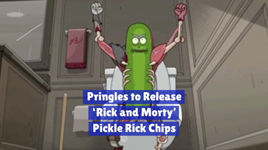 It's Pickle Rick Chips