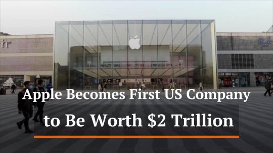 Apple Hits 2 Trillion