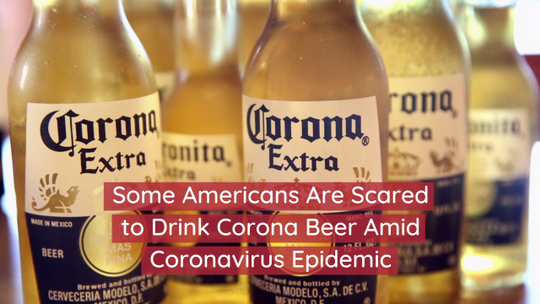 Corona Beer Suffers From Coronavirus