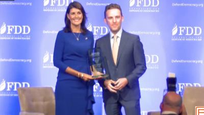 Ambassador Nikki Haley Receives A Special Award